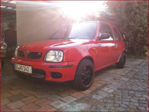 Nissan Micra (K11) red KS - Fahrzeugbild 2 von 3