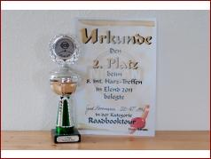 8. int. Harztreffen 2011 - 2. Platz Roadbook-Tour