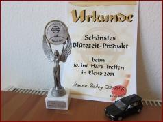 10. Int. Harztreffen 2013 - Schönstes Blütezeit-Produkt